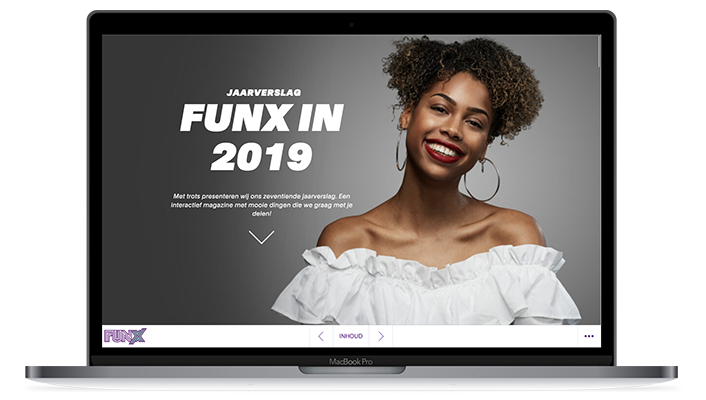 Desktop versie online jaarverslag 2019 FunX
