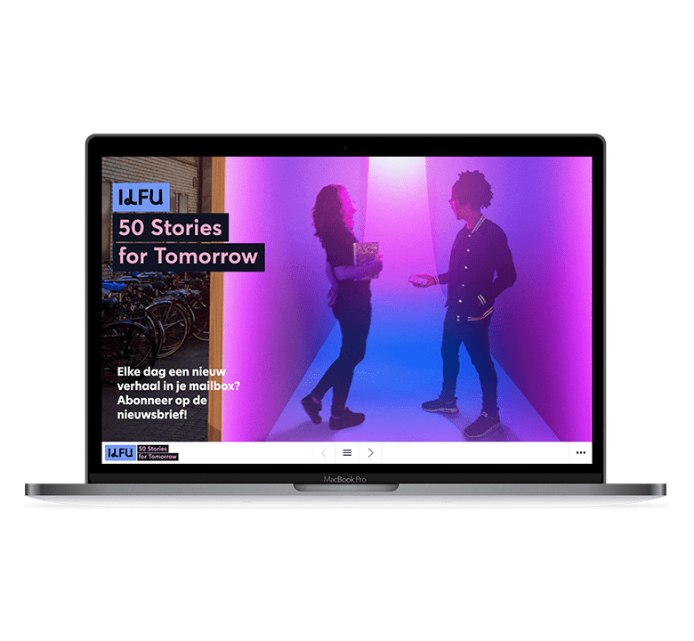 Desktop versie 50 stories of tomorrow
