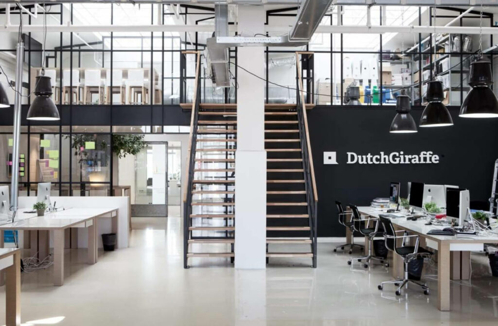 Afbeelding kantoor Dutch Giraffe
