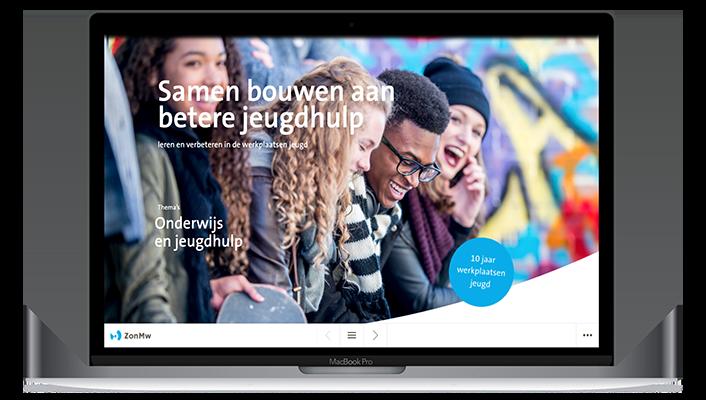 Desktop versie ZonMw Samen bouwen betere jeugdhulp