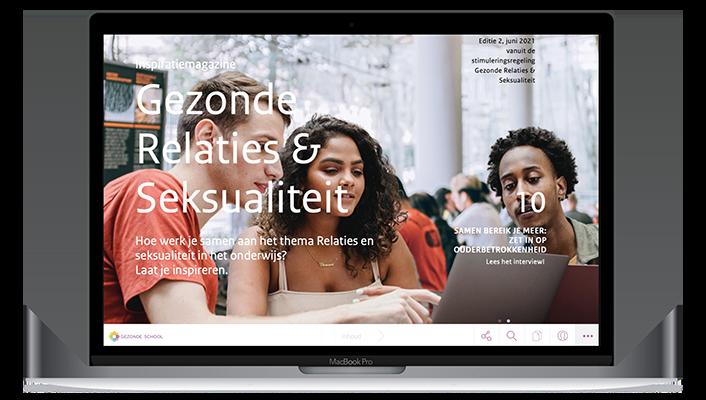 Desktop versie Gezonde School