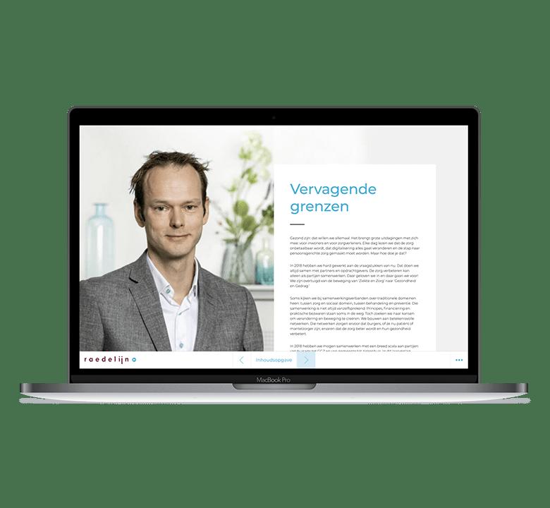 Jaarverslag Raedelijn Desktop 1 Min