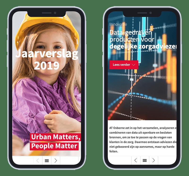 Afbeelding mobiele versie AT Osborne online jaarverslag 2019