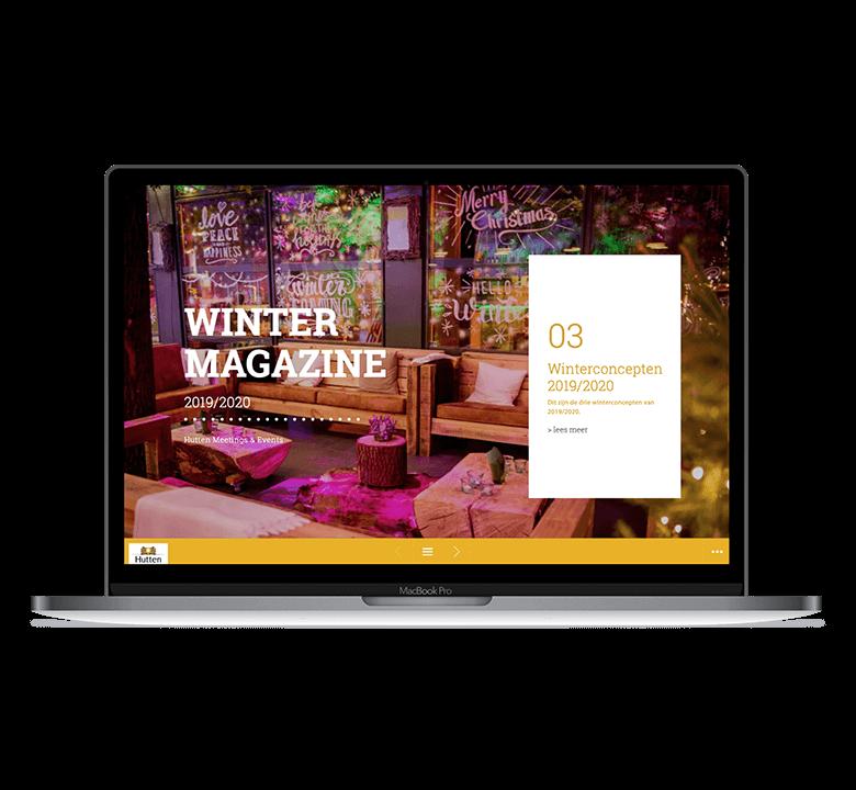 Magazine Huttenwinter Desktop
