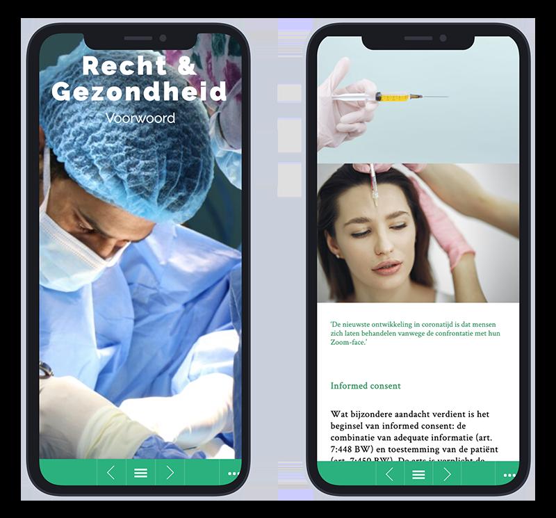 Mobiele versie Juncto editie Recht & Gezondheid