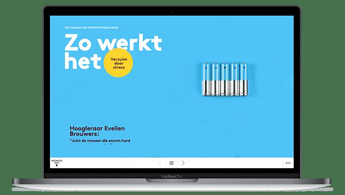 Desktop versie Women Inc Verzuim door stress