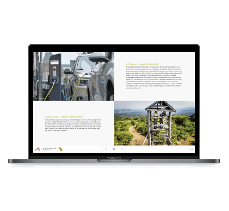 Desktop versie ZuidAs Duurzaamheidsverslag
