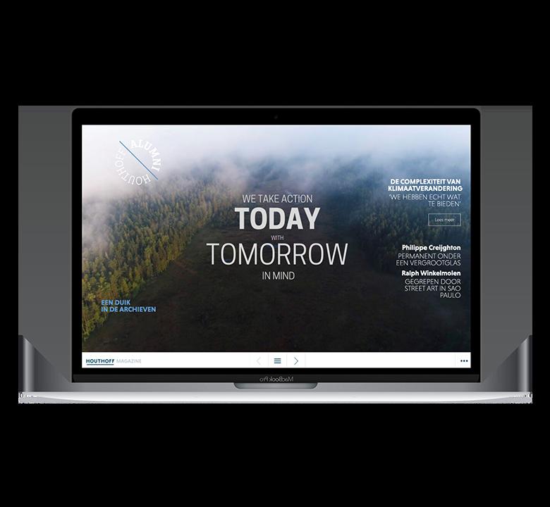 Online Jaarverslag Houthof Desktop