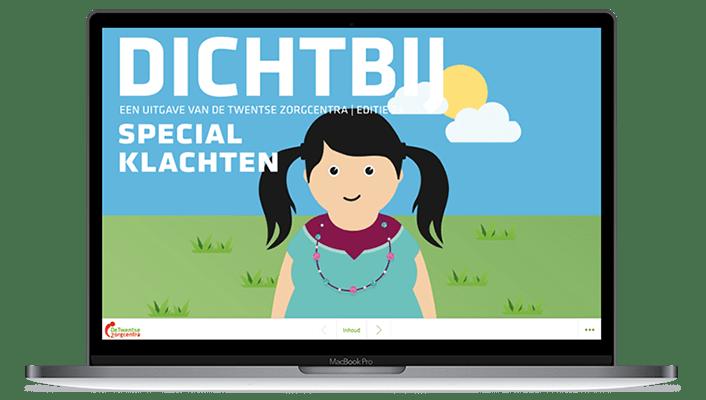 Desktop versie Online magazine Dichtbij editie 23