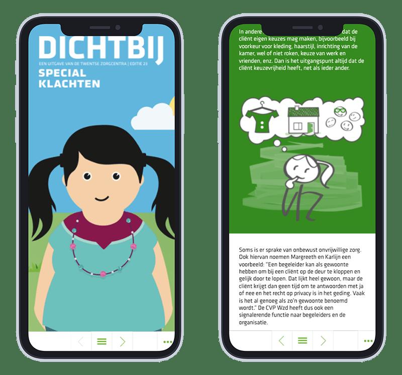 Mobiele versie Online magazine Dichtbij editie 23