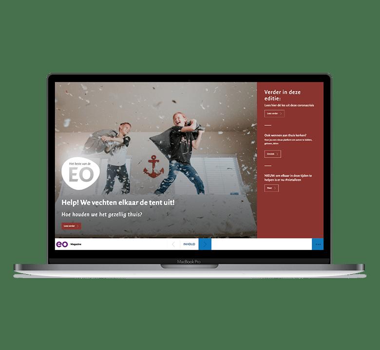 Desktop versie EO Magazine editie 60