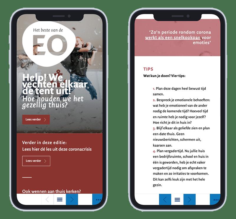 Mobiele versie EO Magazine editie 60