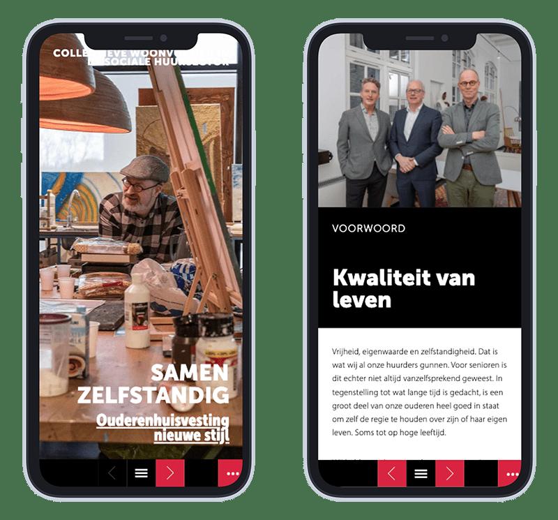 Mobiele versie online Magazine Congresredactie Samen Zelfstandig